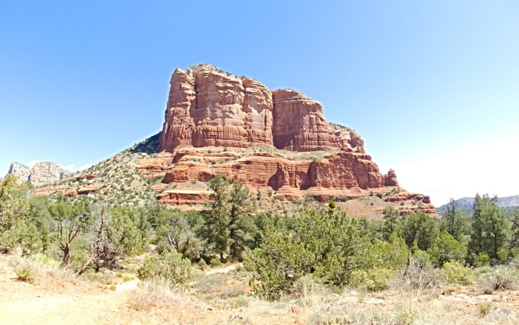 Une montage du célèbre Gold Butte